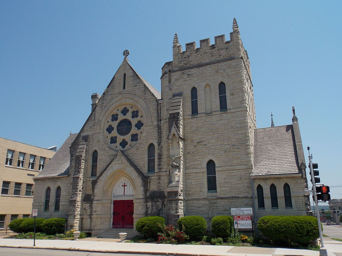 st johns episcopal church dubuque iowa wikipedia