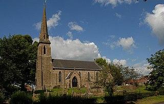 St Thomas Church, Henbury Church in Cheshire, England