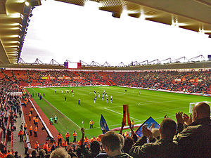 St Mary's Stadium - Image: St Mary's Stadium 1