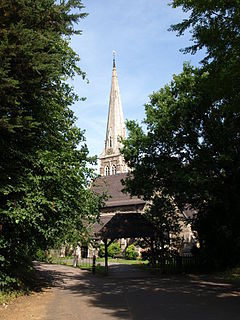 St Marys Church, Selly Oak Church in Birmingham, England