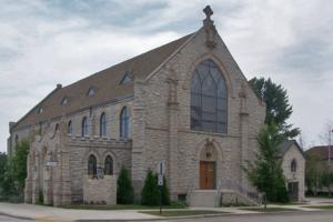 St. James' Episcopal Church (Manitowoc, Wisconsin) - Image: St James Episcopal Church Manitowoc 2005 edit 1
