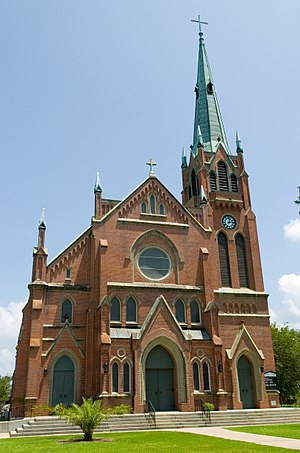Jeanerette, Louisiana - St. John the Evangelist Roman Catholic Church, Jeanerette