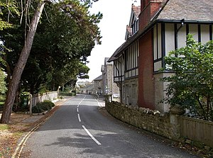 St Lawrence, Isle of Wight - St Lawrence village