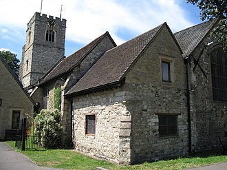 Hensley Henson - St Margaret's, Barking, Henson's first parish