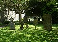 St Martin's Church, Ockham Road South, East Horsley (May 2014) (Gravestones).JPG