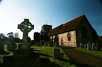 Frensham - St Mary the Virgin church, Church of England.