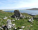 St Patrick's Chapel (near Balephuill Bay, Tiree) - geograph.org.uk - 786495.jpg