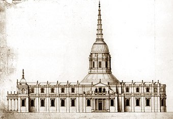 St Paul's - the warrant design