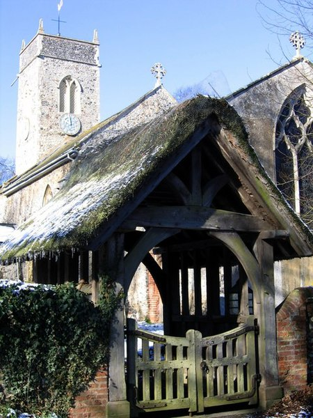 File:St Peter's lych gate - geograph.org.uk - 132845.jpg