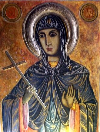 Parascheva of the Balkans - Icon of St Petka from Klisura Monastery, Bulgaria.