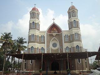 Angamaly Suburb in Ernakulam, Kerala, India