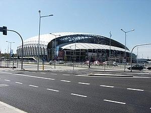 Stadion Miejski (Poznań) - Stadium as it seen from Bulgarska st.