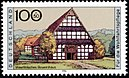 Stamp Germany 1996 Briefmarke Bauernhaus Westfalen.jpg