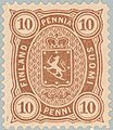 Stamp of Finland - 1875 - Colnect 414249 - Coat of Arms Type m 75 Helsinki Printing.jpeg