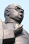 standbeeld van dr hjam schaepman op de es in tubbergen