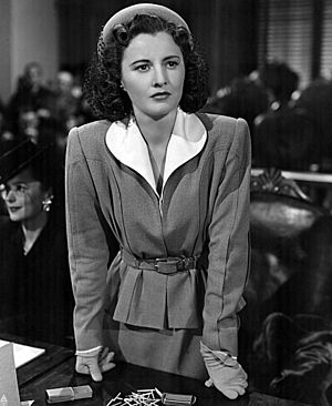 The Two Mrs. Carrolls - Barbara Stanwyck (seen here in 1942) was a good friend of director Peter Godfrey