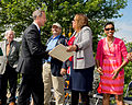 Star Spangled Banner National Historic Trail in Bladensburg Ribbon Cutting (14381609672).jpg
