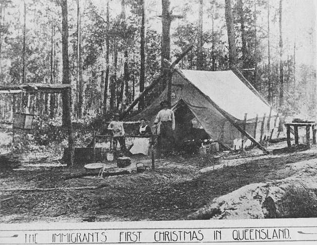 StateLibQld 1 164391 Immigrants first Christmas in Queensland, 1911