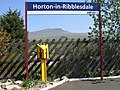 Station Signs at Horton in Ribblesdale - geograph.org.uk - 430176.jpg