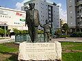 Statue of David Ben Gurion in Rishon LeZion, Israel.jpg