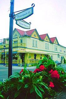 Sainte-Agathe-des-Monts City in Quebec, Canada
