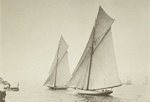 Stebbins-50-International races, (1887) start.jpg