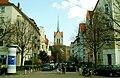 Steinmetzstraße Hannover An der Lister Kirche Matthäuskirche.jpg