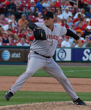 Steve Kline (left-handed pitcher) - Kline with the San Francisco Giants