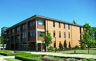George Fox University - The Stevens Center on the Newberg campus