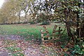 Stile on a footpath through Penshurst Place Estate. - geograph.org.uk - 1029139.jpg