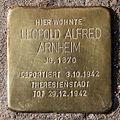 Stolperstein Brunnenstr 194 (Mitte) Leopold Alfred Arnheim.jpg
