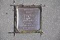 Stolperstein Duisburg 100 Fahrn Ziethenstraße 39 1 Stolperstein.jpg