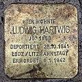 Stolperstein Helmstedter Str 27 (Wilmd) Ludwig Hartwig.jpg