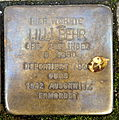 Stolperstein Karlsruhe Lilli Behr Kriegsstr 192 (fcm).jpg