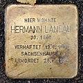 Stolperstein Metzer Str 29 (Prenz) Hermann Landau.jpg