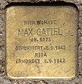 Stolperstein Prinzenallee 58 (Gesbr) Max Gattel.jpg
