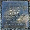 Stolperstein Stölpchenweg 7 (Wanns) Else Berger.jpg