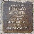Stolperstein Verden - Hildegard Aronstein (1904) - 2014.jpg