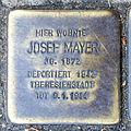 Stumbling block for Josef Mayer (Agrippastraße / Kämmergasse)