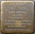 Stumbling block for Josef Engel (Weberstraße 21)