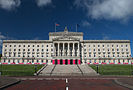 Stormont Parliament Buildings during Giro d'Italia, May 2014(6).jpg