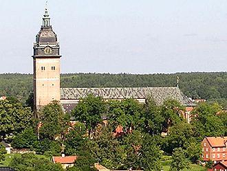 Strängnäs Cathedral - Image: Strängnäs domkyrka cropped zoom