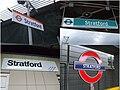 Stratford station signage.jpg
