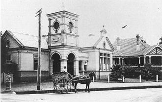 Strathfield, New South Wales - Strathfield council chambers (c. 1915)
