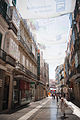 Streets of Málaga under cover of tents. Andalusia, Spain, Southeastern Europe-2.jpg