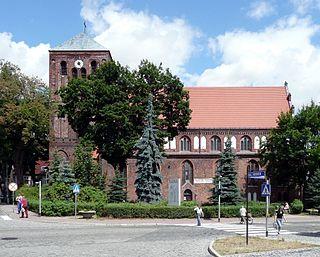 Strzelce Krajeńskie Place in Lubusz Voivodeship, Poland