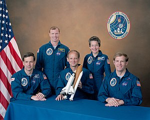 STS-30 - Image: Sts 30 crew