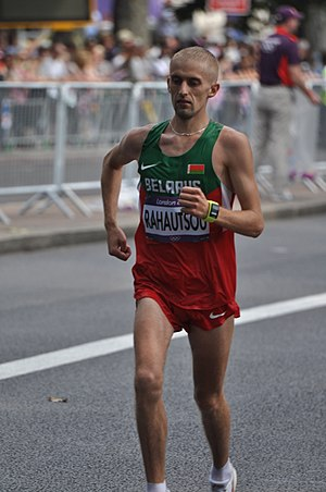 Belarus at the 2012 Summer Olympics - Stsiapan Rahautsou in men's marathon