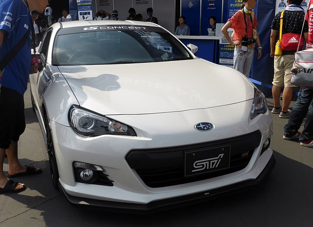 File:Subaru BRZ tS CONCEPT front.JPG - Wikimedia Commons