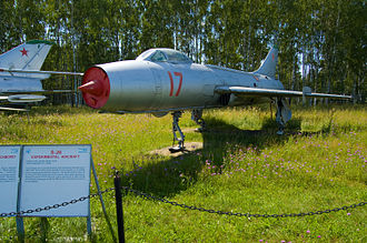 Sukhoi Su-7 - The S-26 on display at Monino